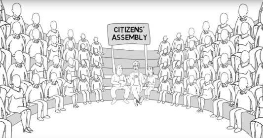 Citizens' assembly video screenshot